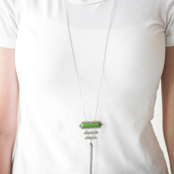 Jewelry - Rio Rendezvous - Green Necklace Set